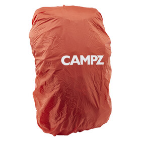 CAMPZ Raincover L sadesuoja repulle, punainen